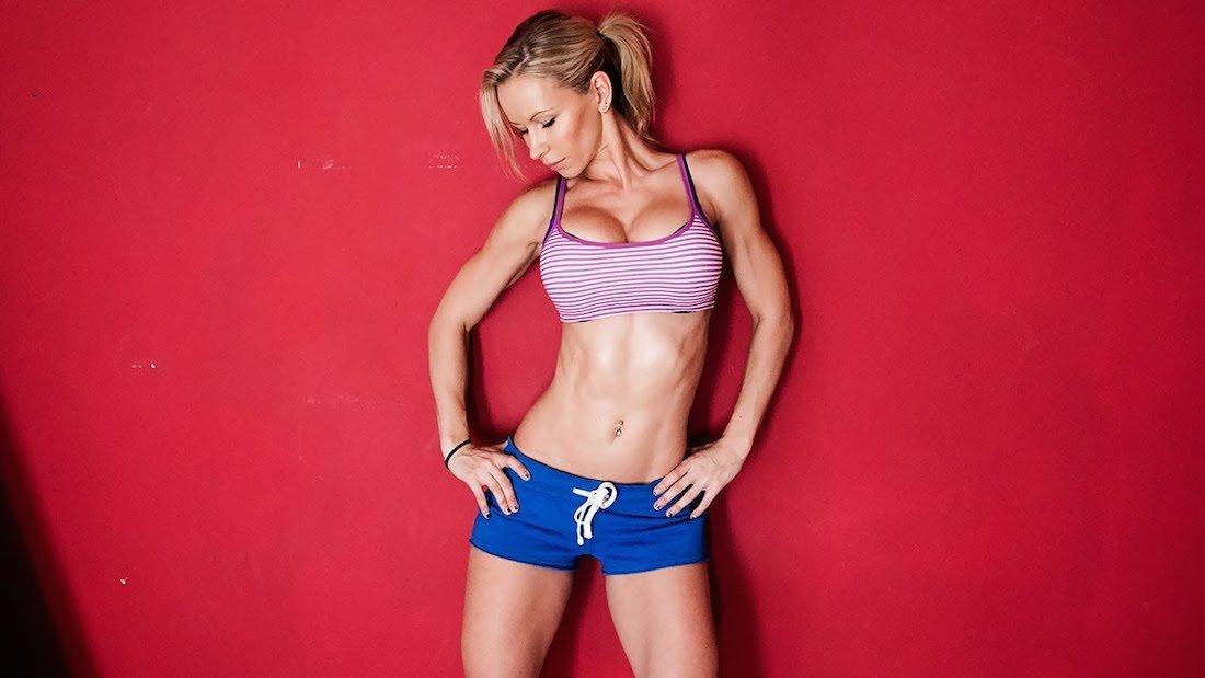Fitness model Zuzka Light