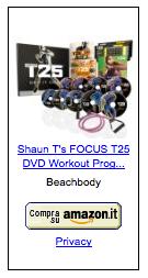 t25 allenamento