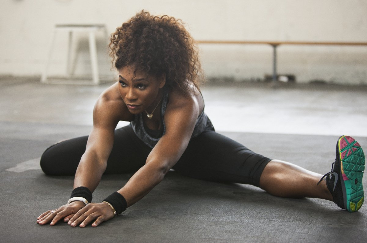 Serena Williams allenamento