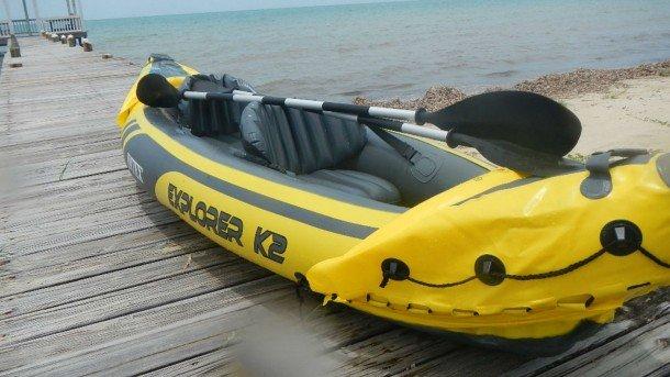 Kayak per 2 gonfiabile