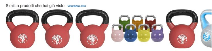 comprare le kettlebell