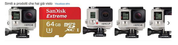 comprare la GoPro su Amazon