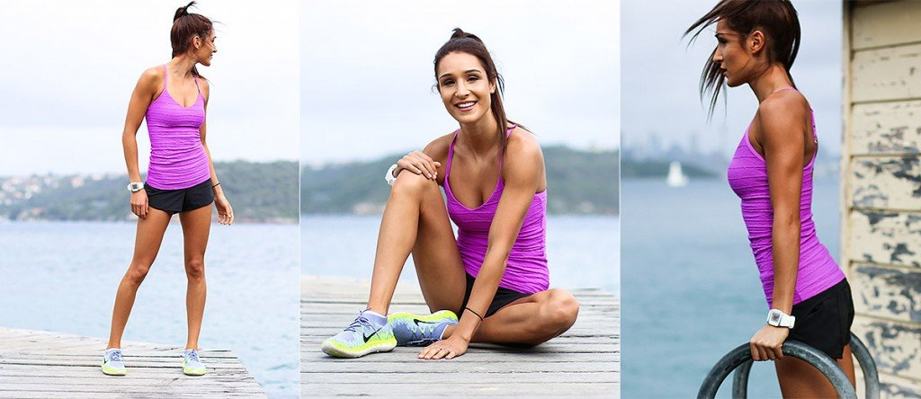 Kayla Itsines con polar ft60