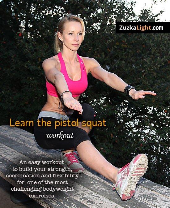 Come fare i pistol squat