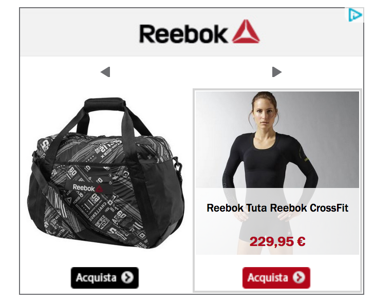 Collezione Reebok Crossfit 2016