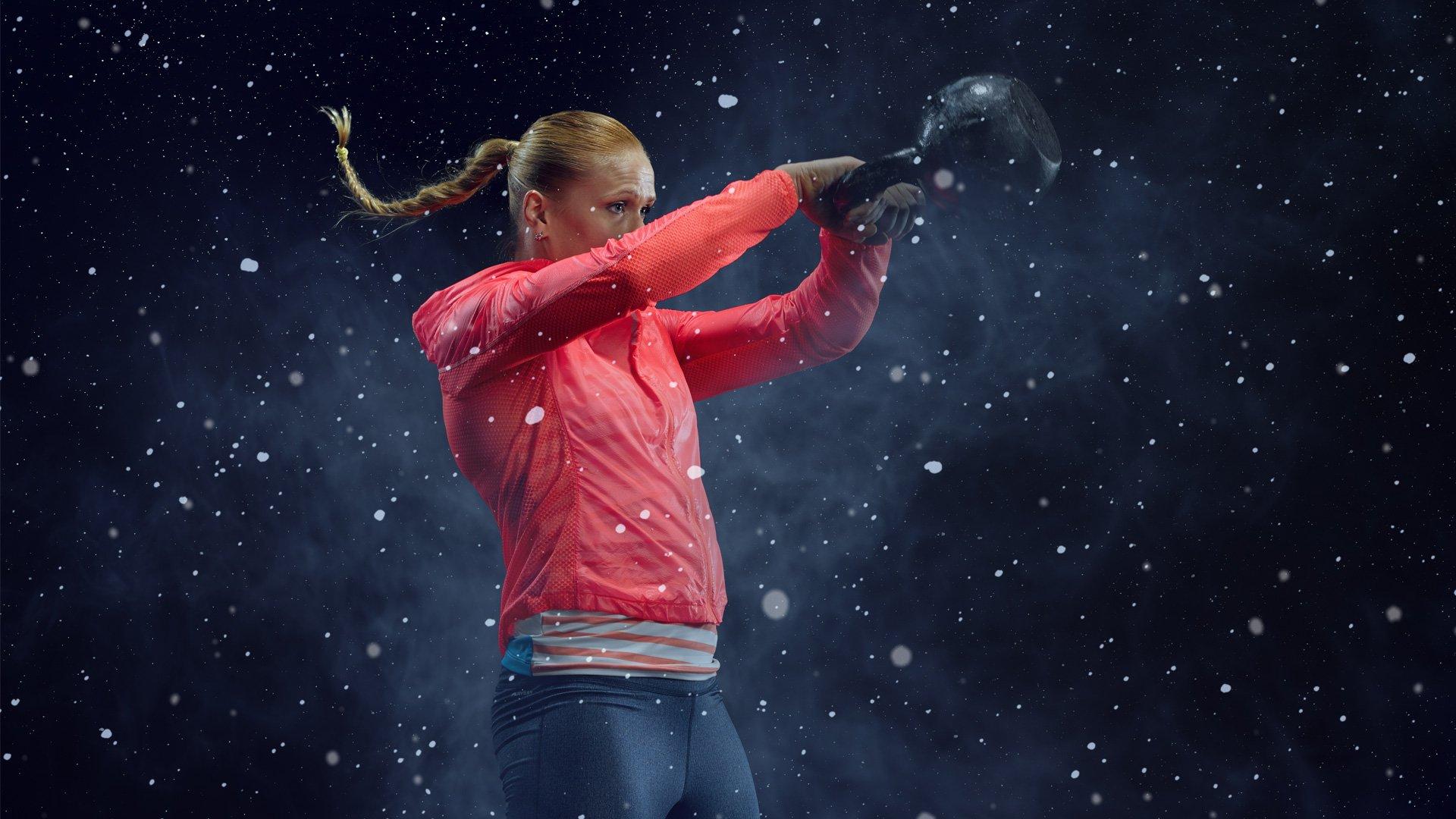 Annie Thorisdottir indossa Reebok