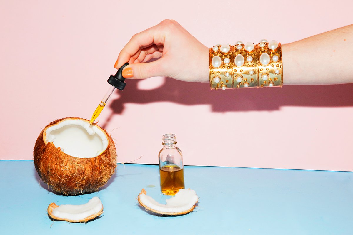 olio di cocco extra vergine