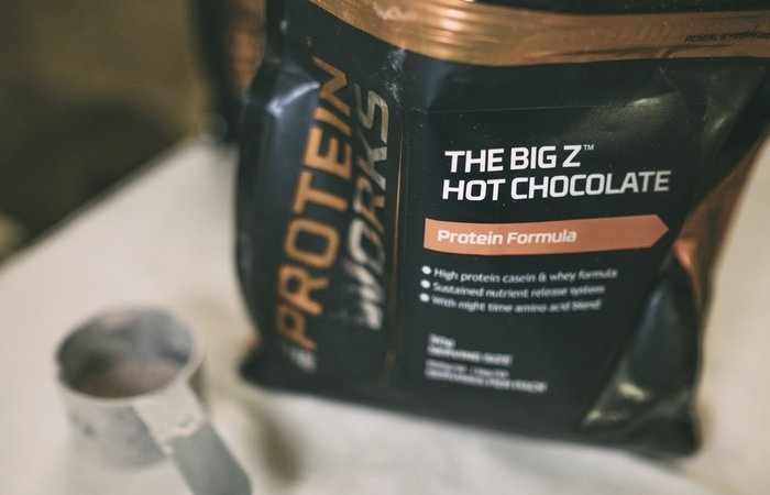 cioccolata calda proteica the protein works
