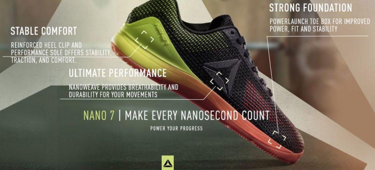 Reebok Nano: Arrivano le 8.0