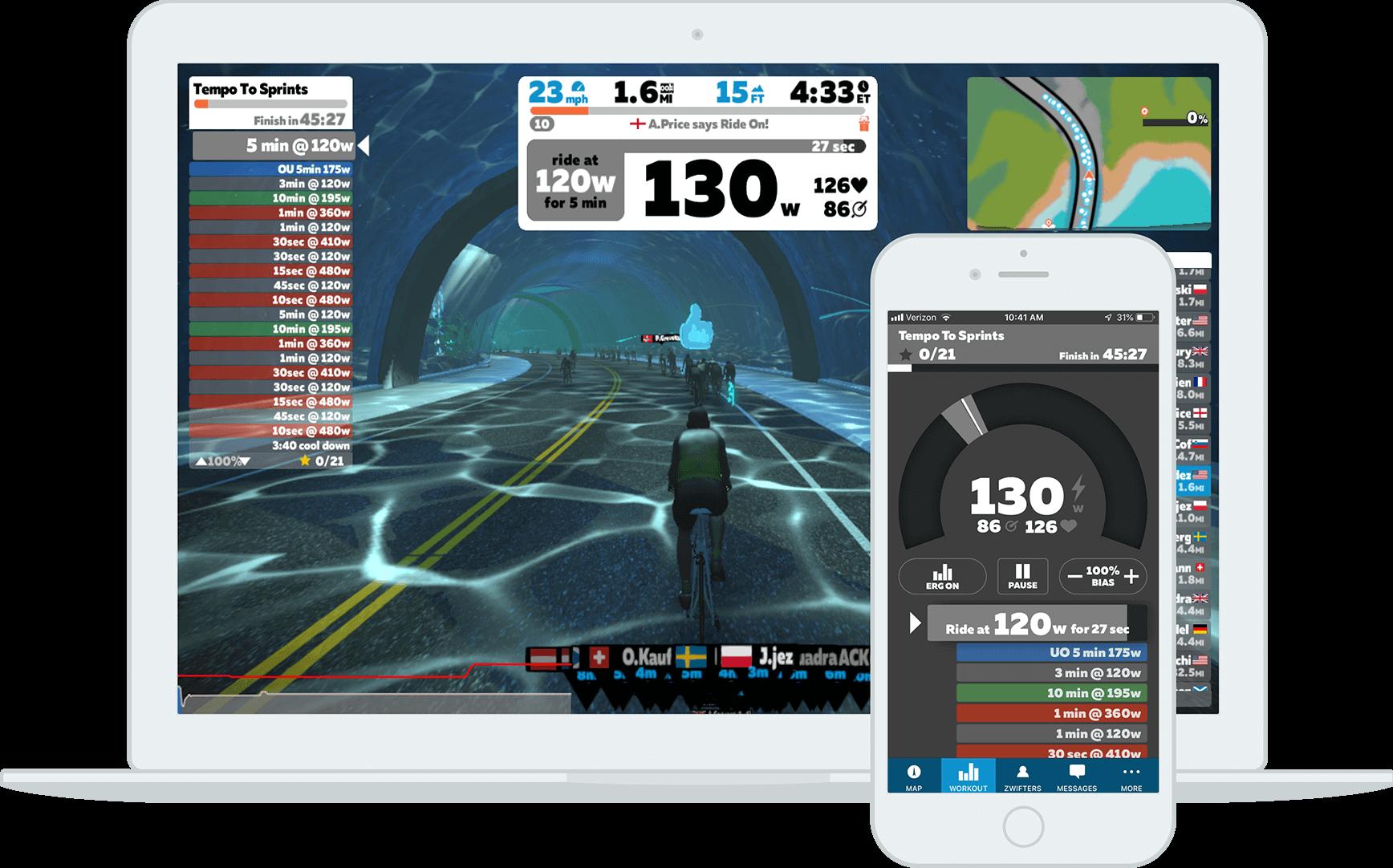 indoor cycling in casa app