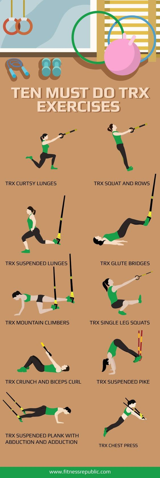 trx esercizi efficaci