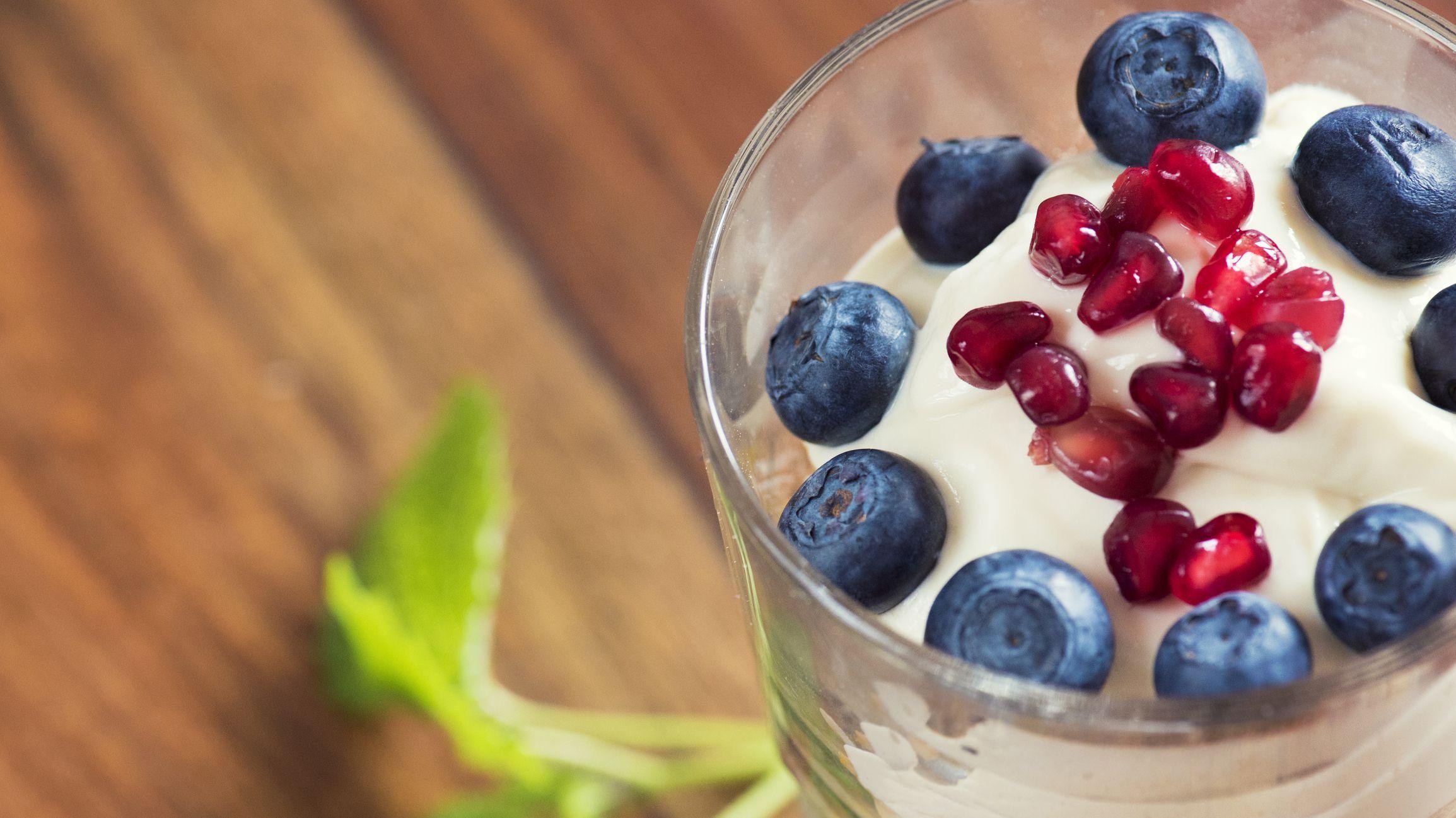 Colazione vegana ricca di proteine