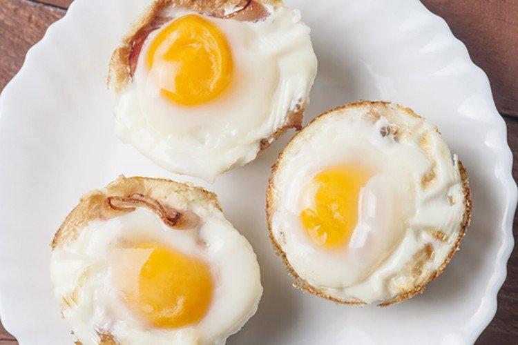 Colazione proteica con uova