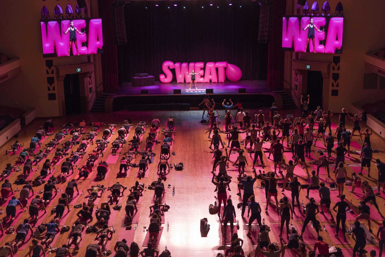 Presentazione Apple dell'app Sweat