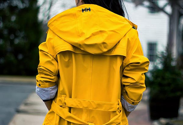 Impermeabile Giallo Helly Hansen