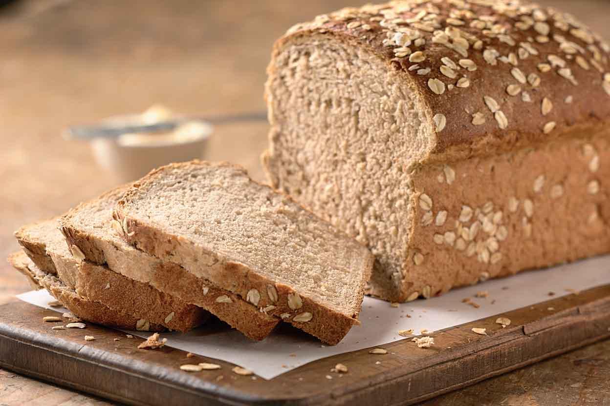 farina d'avena pane