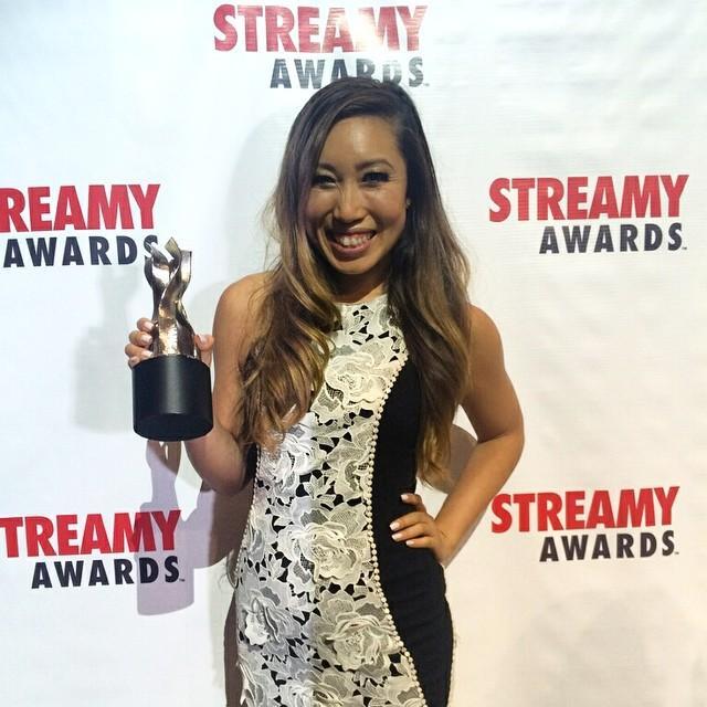 cassey ho streamy awards