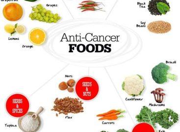 Cibi anticancro: La lista degli alimenti