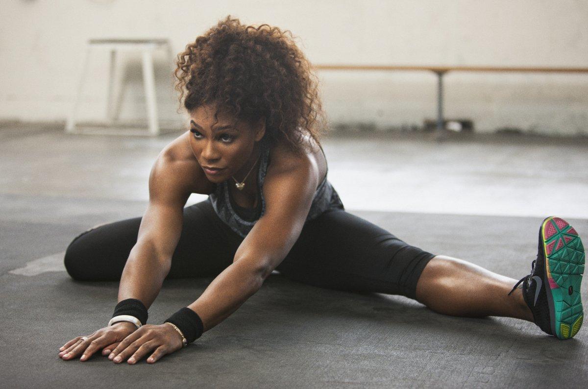 Serena Williams allenamento