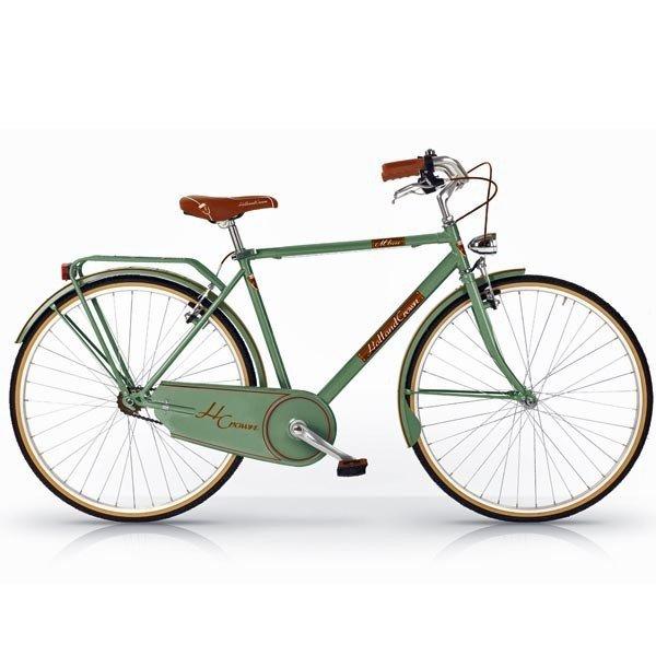 bici vintage verde