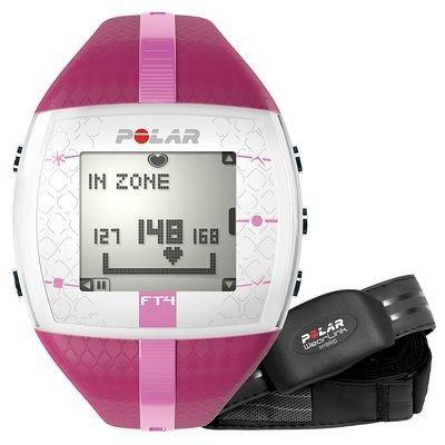 cardiofrequenzimetro polar rosa