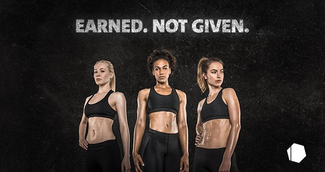 Donne muscolose e in forma