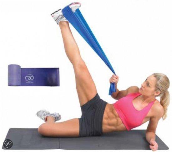 fascia elastica thera band per stretching