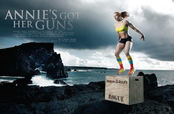 Reebok sponsor per Annie Thorisdottir