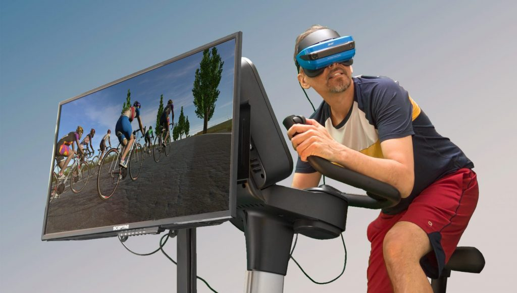 spinning con virtual reality