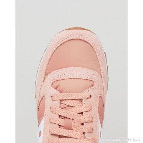 Le scarpe rosa di Saucony Jazz
