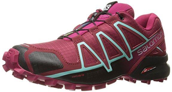 Scarpe trail running donna Salomon color Sangria
