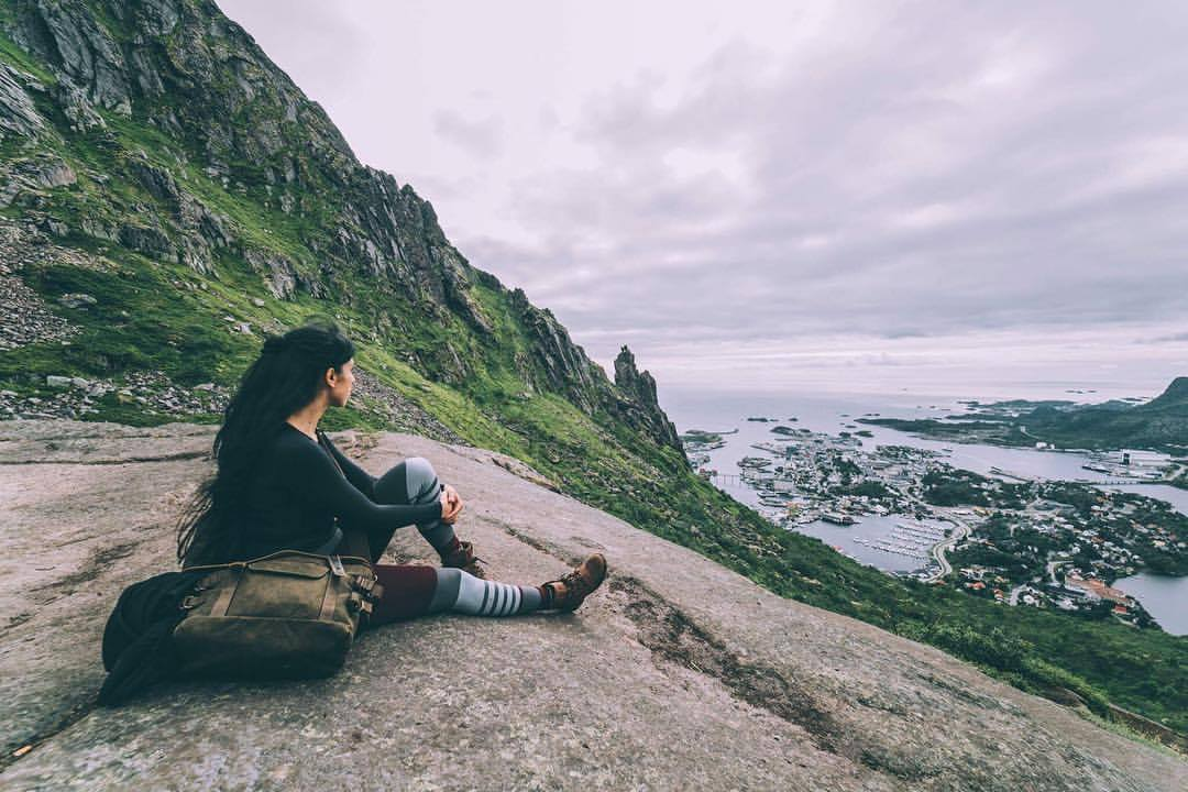 Panorama Svolvaergeita Isole lofoten