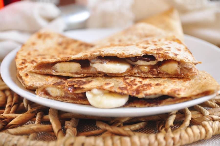 farina di mandorle pancake