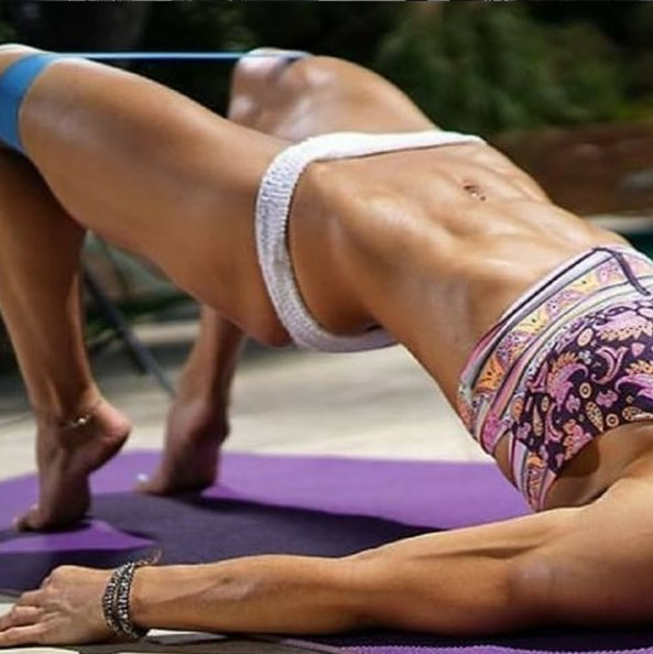 allenarsi con le bande elastiche