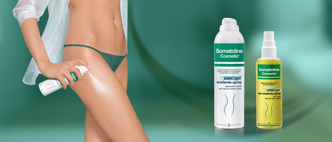 somatoline crema snellente spray