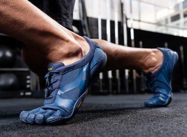 Vibram FiveFingers foot