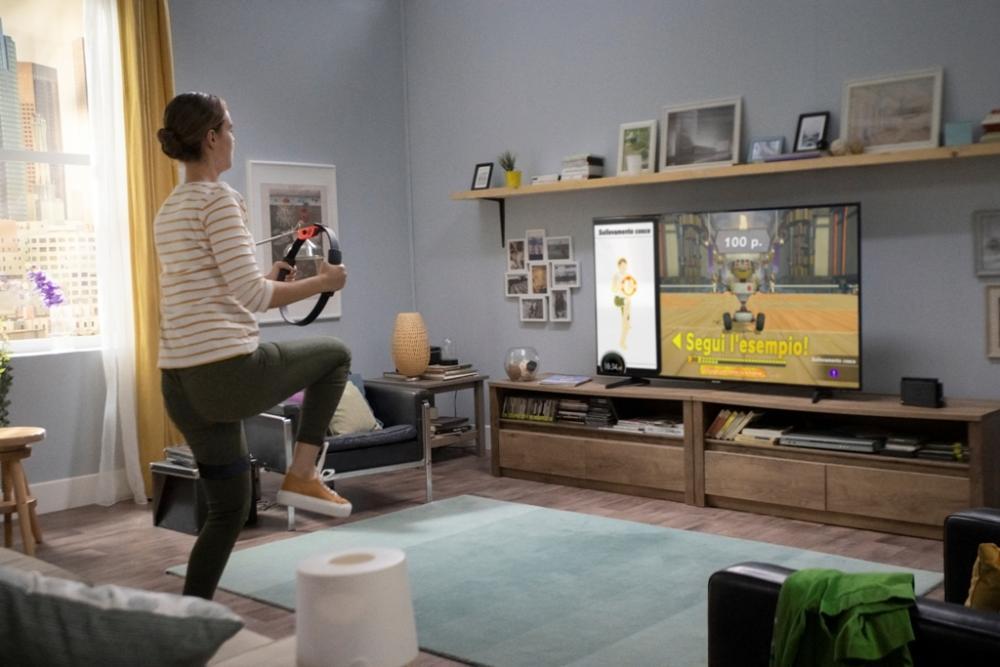 allenarsi a casa con Nintendo Switch