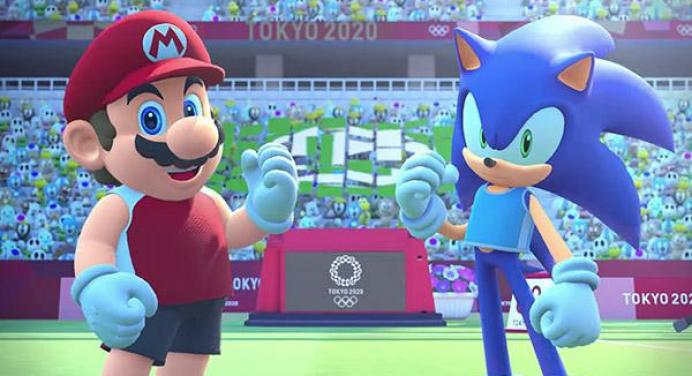 mario & sonic ai giochi olimpici di tokyo