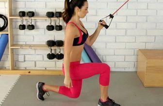 esercizio lunges