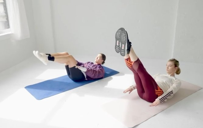 sit ups esercizio