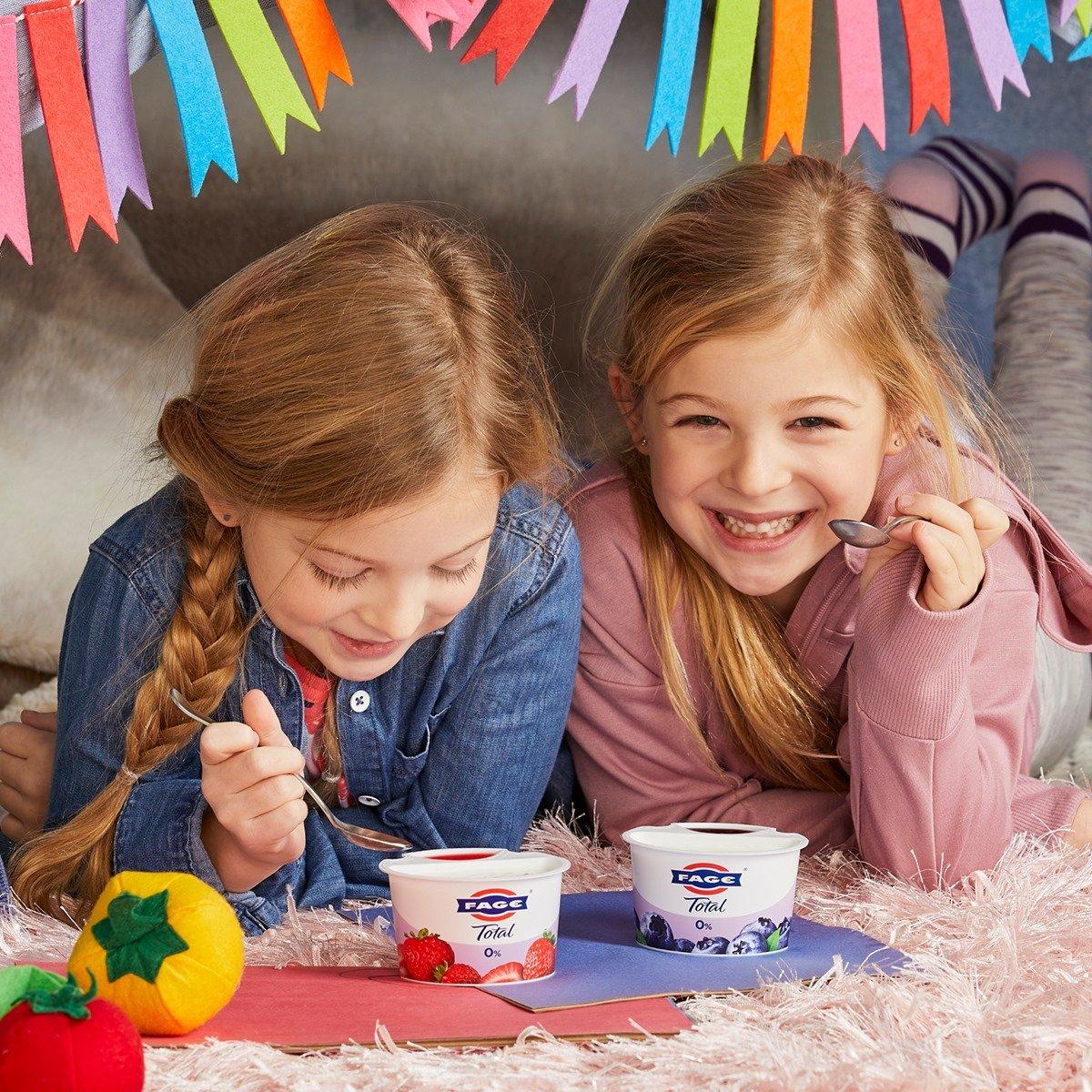 yogurt greco per bambini