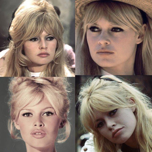 La frangia di Brigitte Bardot