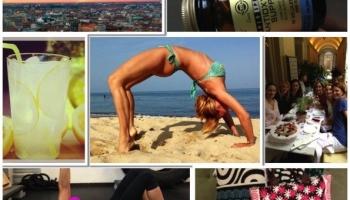 Fitness Blog: Come si allena Federica Fontana